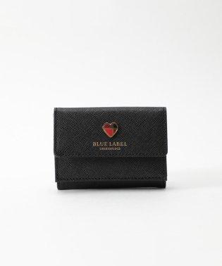 ハートモチーフ三つ折り財布