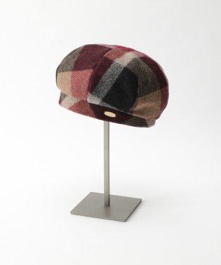 ウールクレストブリッジチェックベレー帽