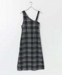 アシンメトリージャンパースカート