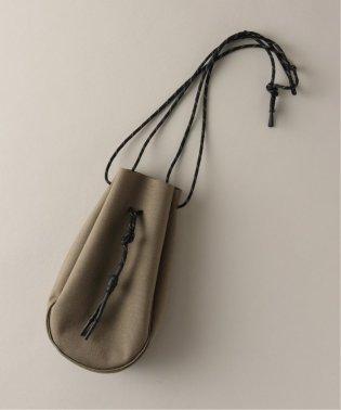 【吉岡衣料店 / ヨシオカイリョウテン】DRAWSTRING BAG PULP 別注 Sサイズ