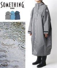 【SOMETHING】サムシング エドウィン レインポンチョ