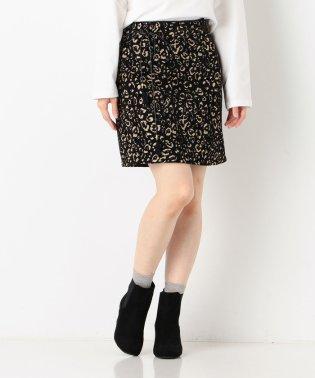 ジャガードパイピングスカート