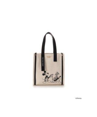 【ディズニーコレクション「ミッキー&ドナルド」】キャンバストートバッグ