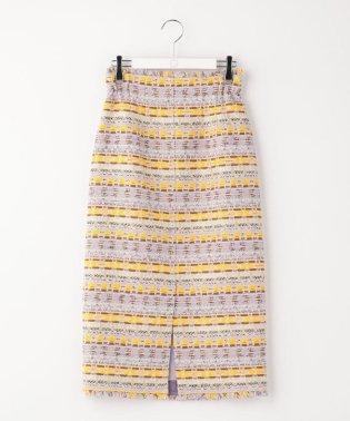 ファンシーツイードタイトスカート