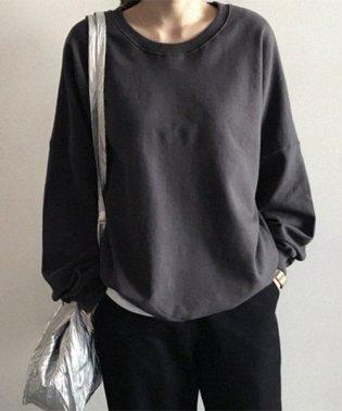 NANING9(ナンニング)ルーズフィットトレーナー【11b】