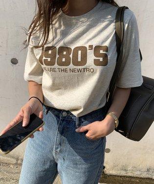 NANING9(ナンニング)1980's半袖Tシャツ