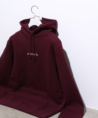 HOODED PARKA WITH LOGO
