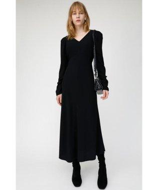 PUFF SHOULDER LONG ドレス