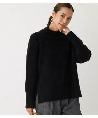 RIB HIGH NECK KNIT TOPS