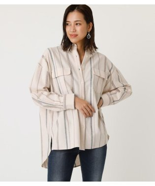 FLAP POCKET OVER SHIRT