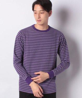 :リップルボーダーTシャツ