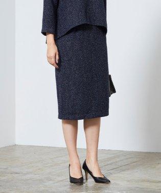 ベーシックツイードタイトスカート