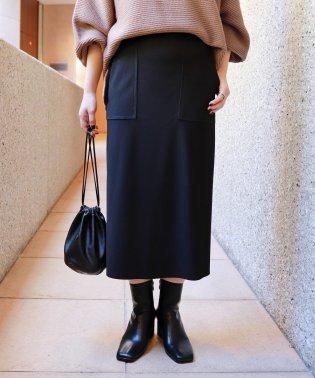 ストレッチベイカータイトスカート ウエストゴム