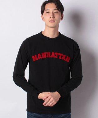 :16/-OEカレッジプリントTシャツ LS