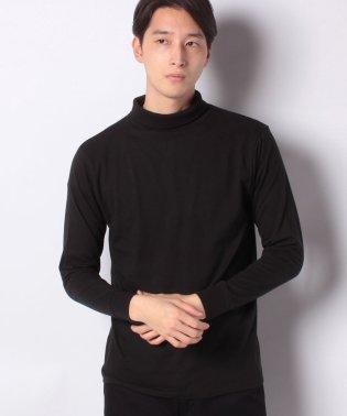 :微起毛タートルネックTシャツ LS