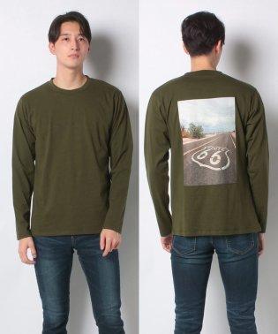 :KAGAFURI別注フォトプリントTシャツ LS