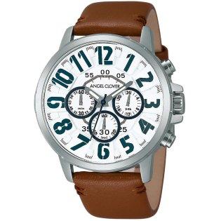 腕時計 エンジェルクローバー BU44SWH-BR