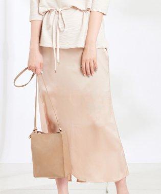 【natural couture】サテンマーメイドスカート