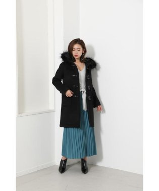 Straight Line WOOL Duffle Coat