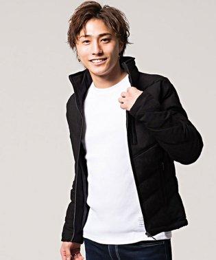 VIOLA【ヴィオラ】総柄切り替えフルジップ長袖中綿ジャケット