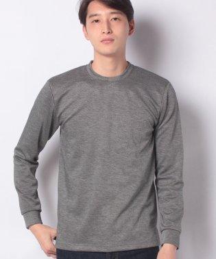 :ストレッチカルゼWフェイスTシャツ LS