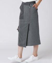 [RADIATE]異素材MIX ラップタイトスカート