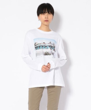 【LIFE magazine×Uncut Bound/ライフ マガジン×アンカットバウンド】 フォトTシャツ POOL