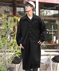 ビッグステンカラーコート/ステンカラーコート メンズ コート オーバーサイズ ドルマンスリーブ BITTER ビター系 秋 冬