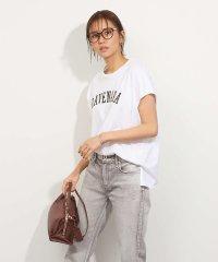 【MICA&DEAL】ロゴプリントTシャツ