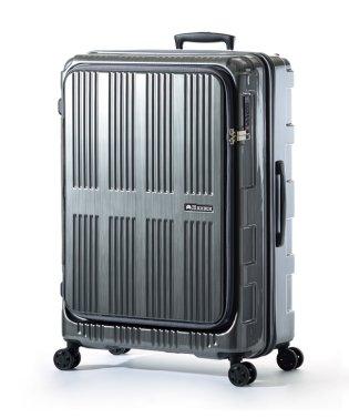 アジアラゲージ マックスボックス スーツケース フロントオープン 拡張 90L/102L 受託手荷物規定内 軽量 大容量 Lサイズ MAXBOX ALI-571