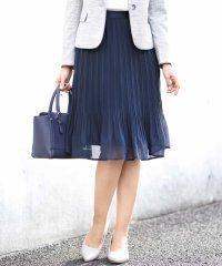 【洗える】シフォンケシプリーツスカート
