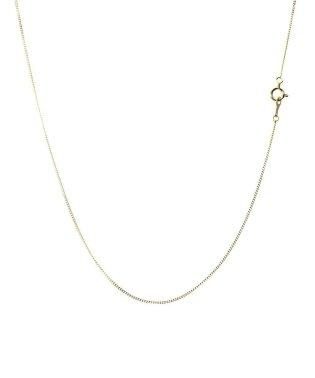 ネックレス チェーン 18金 ゴールドチェーン 2面ダイヤカット 喜平チェーン 0.85mm