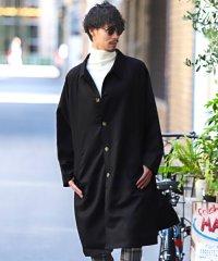 ツイルビッグステンカラーコート/ステンカラーコート メンズ コート オーバーサイズ BITTER ビター系 秋 冬