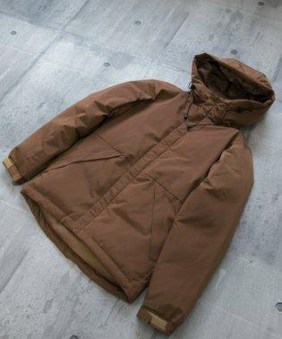 中綿フーデッドジャケット