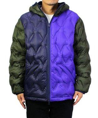 【WOODS】フーデッドキルティングジャケット
