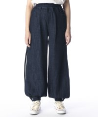 【KURO】LOOSE DENIM SLIT PANTS