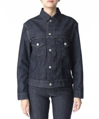 【KURO】KARLA WOMENS DENIM JACKET ONE WASH