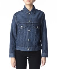 【KURO】KARLA WOMENS DENIM JACKET WASH 01