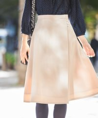 パール釦ラップスカート