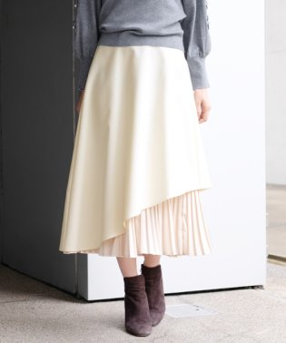 CPアシメプリーツ スカート