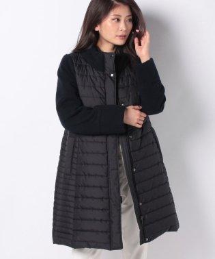 【特別提供品】ニット使い中わたキルトコート