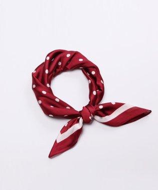 ドットプリントスカーフ