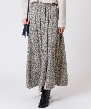 [RADIATE]フラワープリント ロングスカート