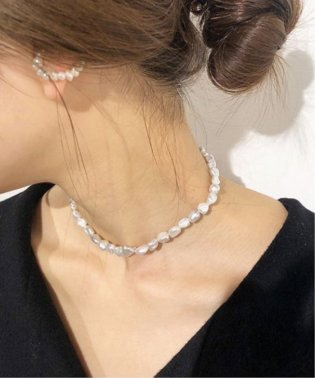 【ucalypt/ユーカリプト】BAROQUE PEARL ネックレス◆