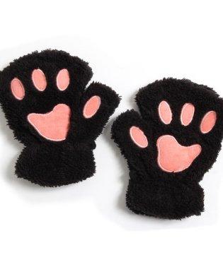 ふわふわ猫の手手袋