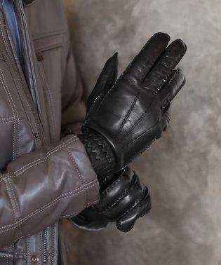 ラムレザー手袋メンズイタリア製