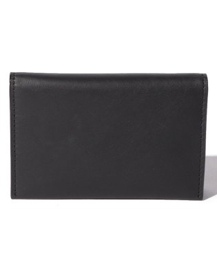 Leather card case 'level' douce