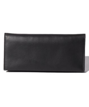 Leather long wallet 'level' douce
