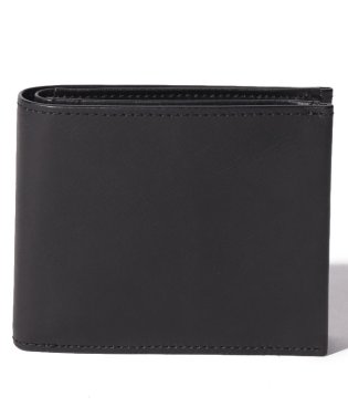 Leather short wallet 'level' douce