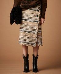 ナバホツイードスカート